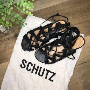 Schutz Jerri Sandal Size 7